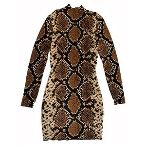 Python Bodycon Dress